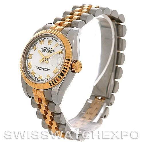 Rolex  Datejust Ladies Ss & 18k Yellow Gold Watch 179173 SwissWatchExpo
