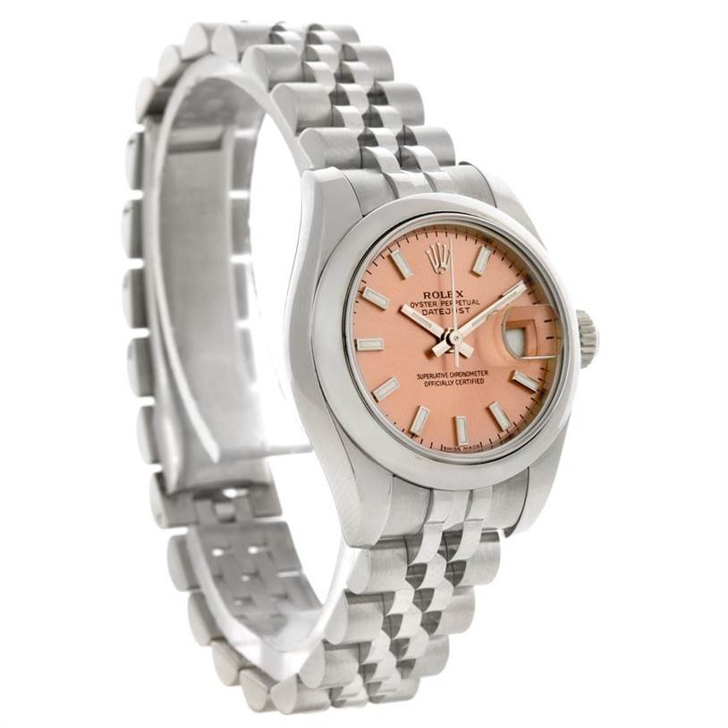 2935 Rolex Datejust Ladies Stainless Steel Watch 179160 SwissWatchExpo