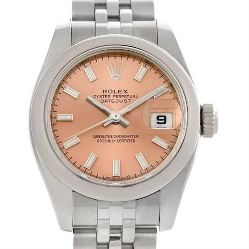 Photo of Rolex Datejust Ladies Stainless Steel Watch 179160