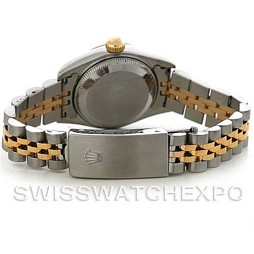 3093 Rolex Datejust Ladies Steel18k Yellow Gold Watch 69173 SwissWatchExpo