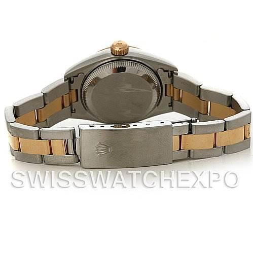3091A Rolex Datejust Ladies Steel 18k Yellow Gold Watch 79173 SwissWatchExpo