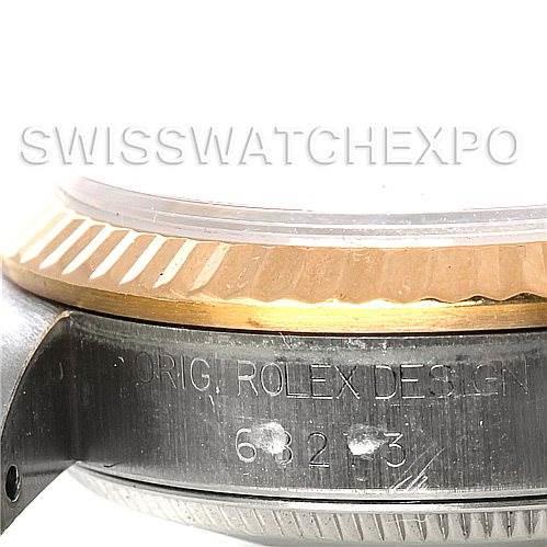 Rolex Datejust Midsize Steel and 18k Yellow Gold Watch 68273 SwissWatchExpo