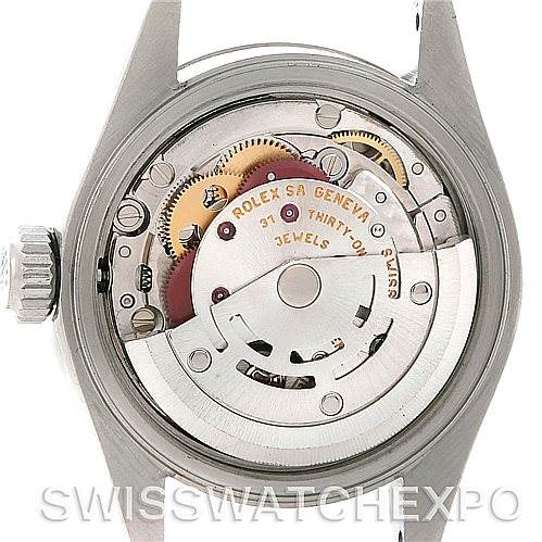 5083 Rolex Datejust Ladies Steel 18k White Gold Watch 79174 SwissWatchExpo