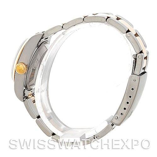 5248 Rolex Datejus Ladies Steel 18k Yellow Gold Watch 69163 SwissWatchExpo