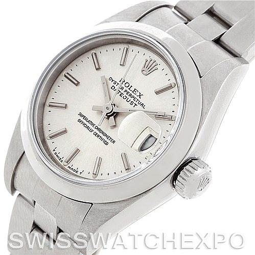 Rolex Oyster Perpetual Datejust Ladies Steel Watch 79160 SwissWatchExpo