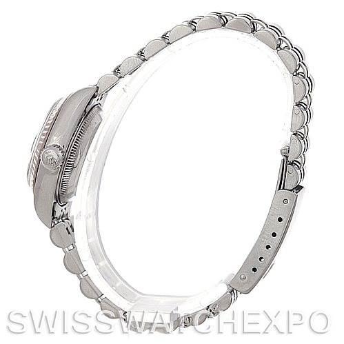 4873 Rolex Datejust Ladies Steel 18k White Gold Watch 79174 SwissWatchExpo