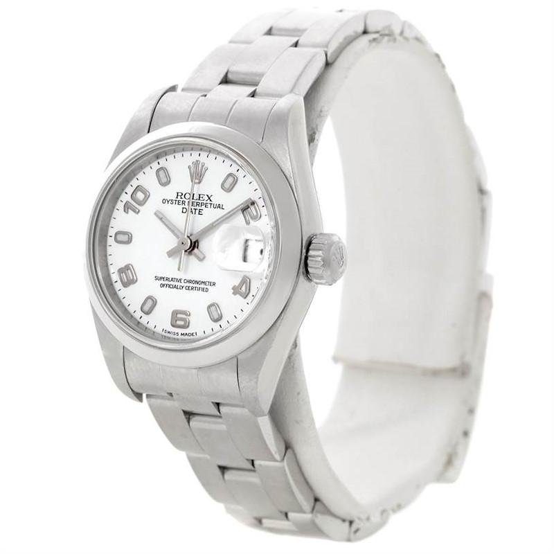 Rolex Oyster Perpetual Datejust Ladies Steel Watch 79160 SwissWatchExpo