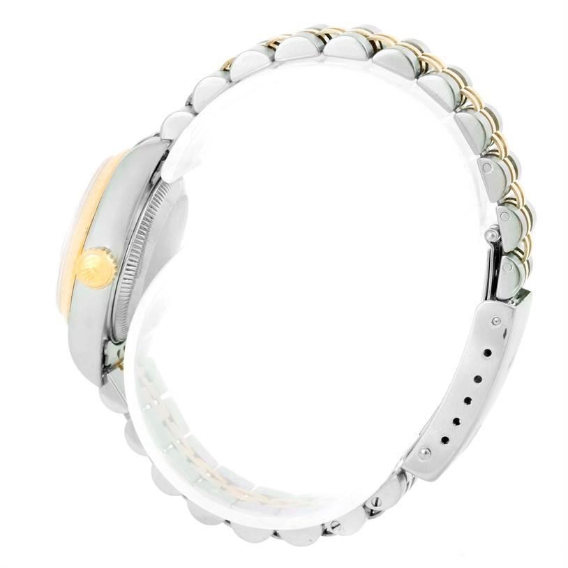9884 Rolex Datejust Ladies Steel 18k Yellow Gold Watch 69173 SwissWatchExpo