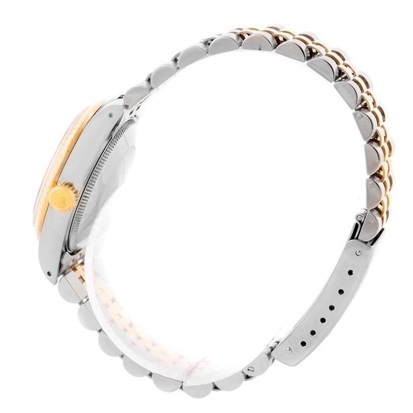 rolex datejust midsize steel yellow gold jubilee bracelet