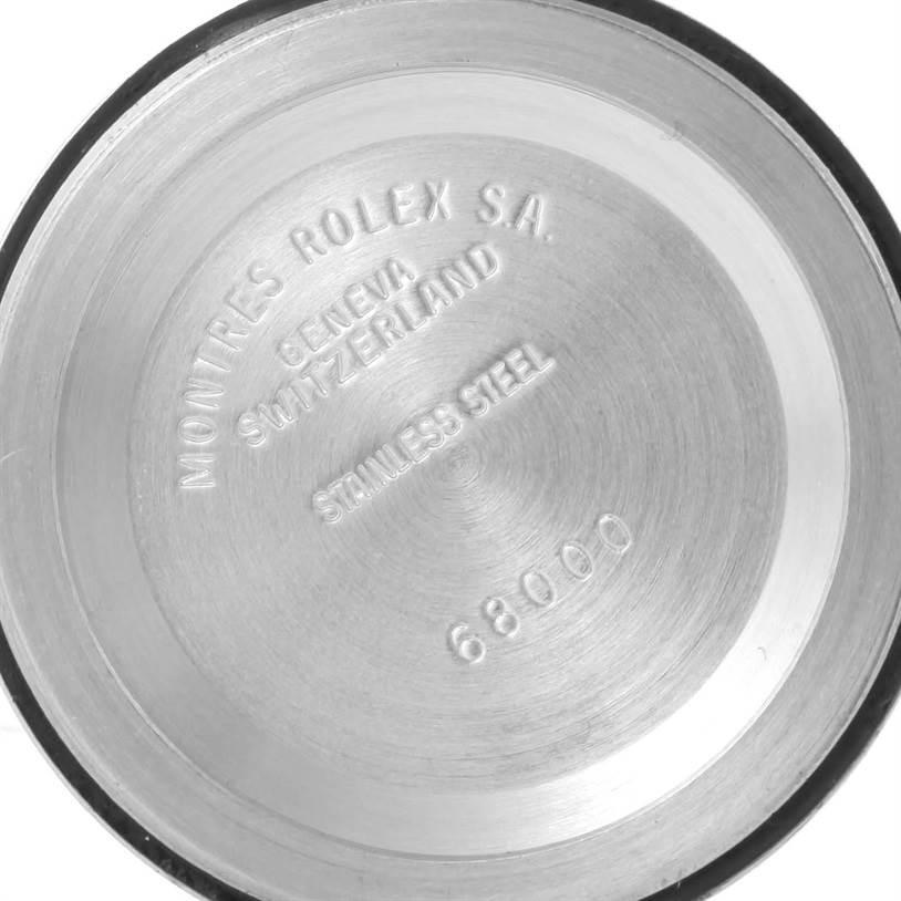 Rolex Datejust Midsize Steel 18k White Gold White Dial Watch 68274 SwissWatchExpo