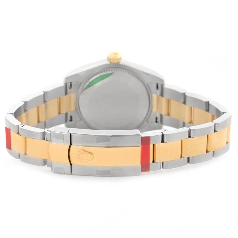 Rolex Datejust Midsize Steel 18k Yellow Gold Watch 178243WRO Unworn SwissWatchExpo