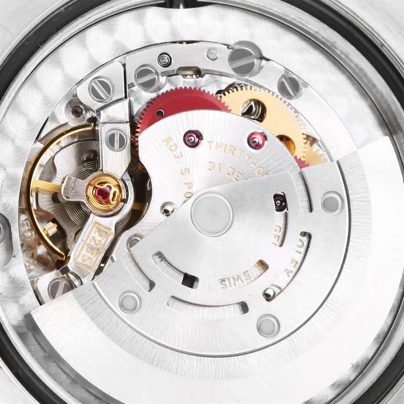 Rolex Datejust Midsize Steel 18k White Gold Silver Dial Watch 178274 SwissWatchExpo