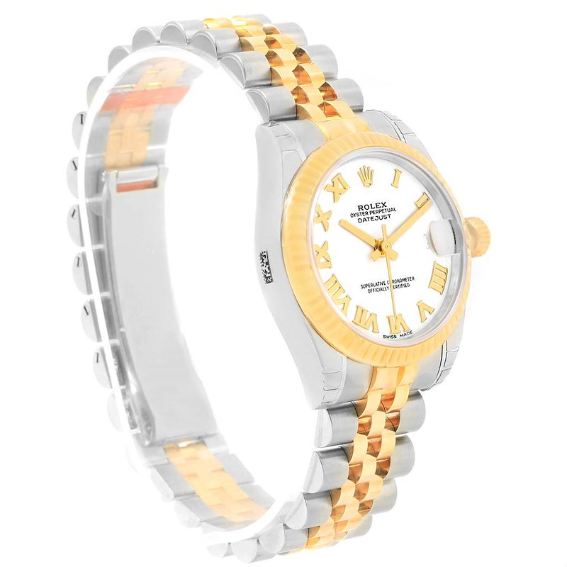 Rolex Datejust Midsize 31mm Steel Yellow Gold Watch 178273 Unworn SwissWatchExpo