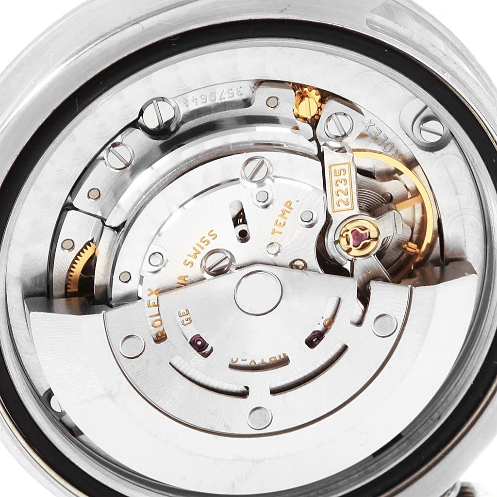 17536 Rolex Datejust Midsize 31mm Steel White Gold Floral Ladies Watch 178274 SwissWatchExpo