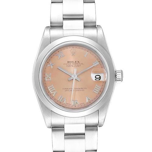 Photo of Rolex Datejust 31 Midsize Salmon Dial Oyster Bracelet Ladies Watch 78240