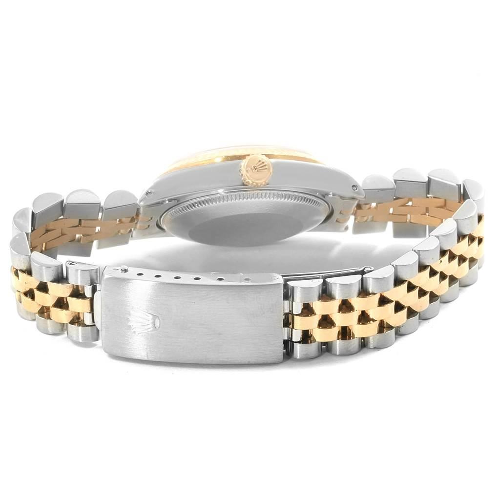 Rolex Datejust Midsize 31 Steel 18K Yellow Gold Ladies Watch 68273 SwissWatchExpo