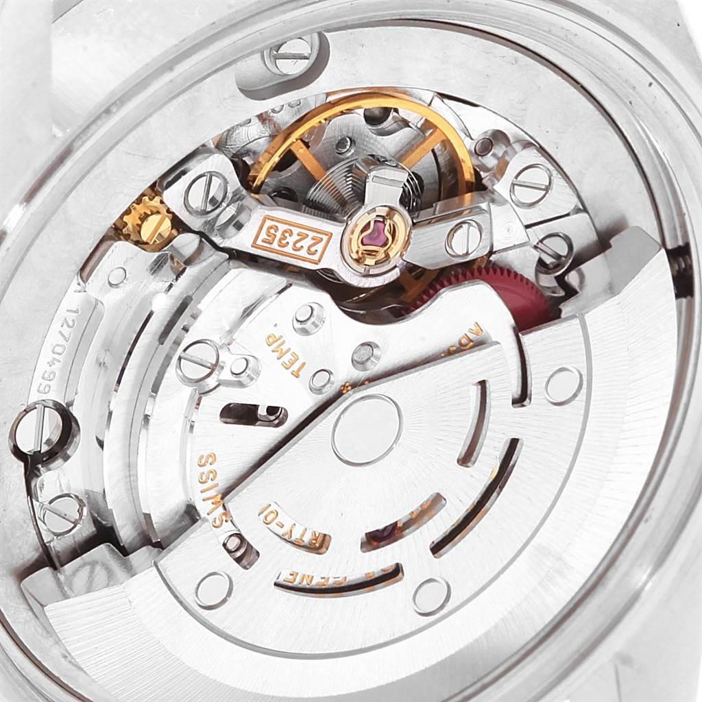Rolex Datejust 31 Midsize Blue Dial Oyster Bracelet Ladies Watch 78240 SwissWatchExpo
