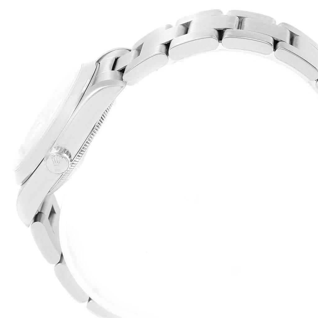 Rolex Midsize Datejust 31mm White Dial Ladies Steel Watch 68240 SwissWatchExpo