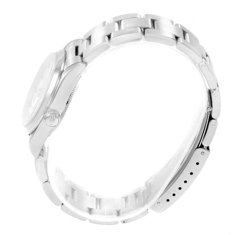 Rolex Midsize Datejust 31mm White Roman Dial Ladies Watch 68240 SwissWatchExpo