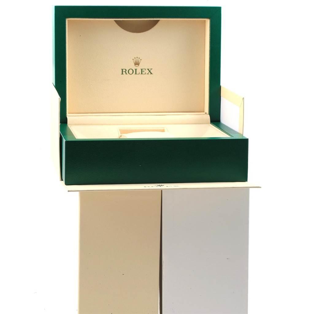 Rolex Datejust Midsize Steel White Gold Anniversary Diamond Watch 178384 SwissWatchExpo