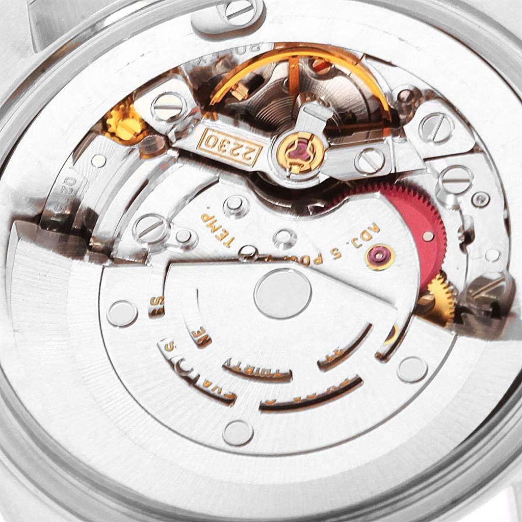 Rolex Midsize Silver Dial Smooth Bezel Steel Ladies Watch 77080 SwissWatchExpo