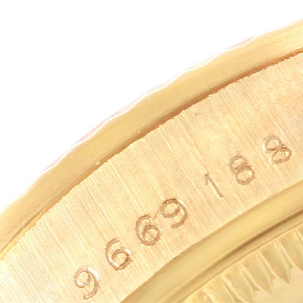 20738b Rolex President Datejust 31 Midsize Gold Diamond Watch 68278 SwissWatchExpo