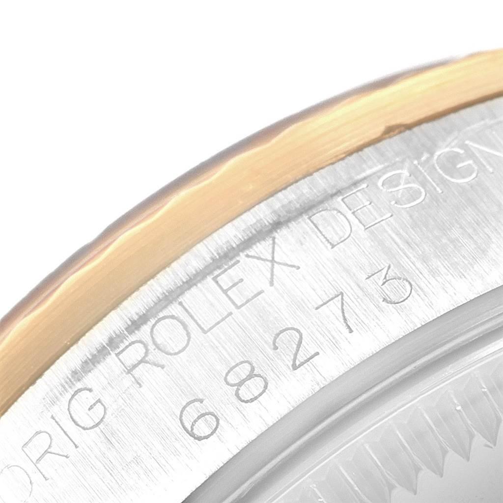 21131 Rolex Datejust 31 Midsize Steel Yellow Gold Diamond Ladies Watch 68273 SwissWatchExpo