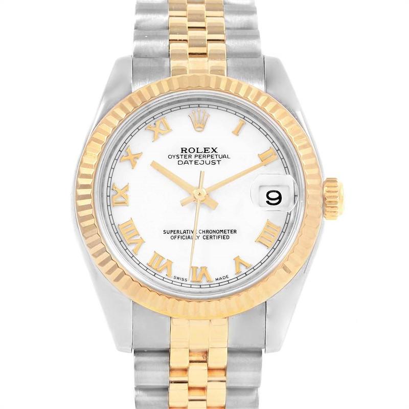 Rolex Datejust Midsize 31mm Steel Yellow Gold Ladies Watch 178273 SwissWatchExpo