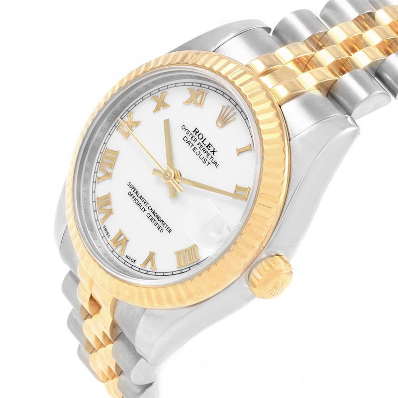 Rolex Datejust Midsize 31mm Steel Yellow Gold Ladies Watch 178273 SwissWatchExpo