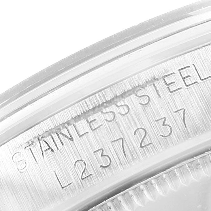 22221 Rolex Midsize 31mm White Dial Automatic Steel Ladies Watch 67480 SwissWatchExpo