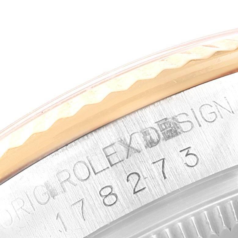 Rolex Datejust Midsize 31 Steel Yellow Gold Ladies Watch 178273 Box Card SwissWatchExpo