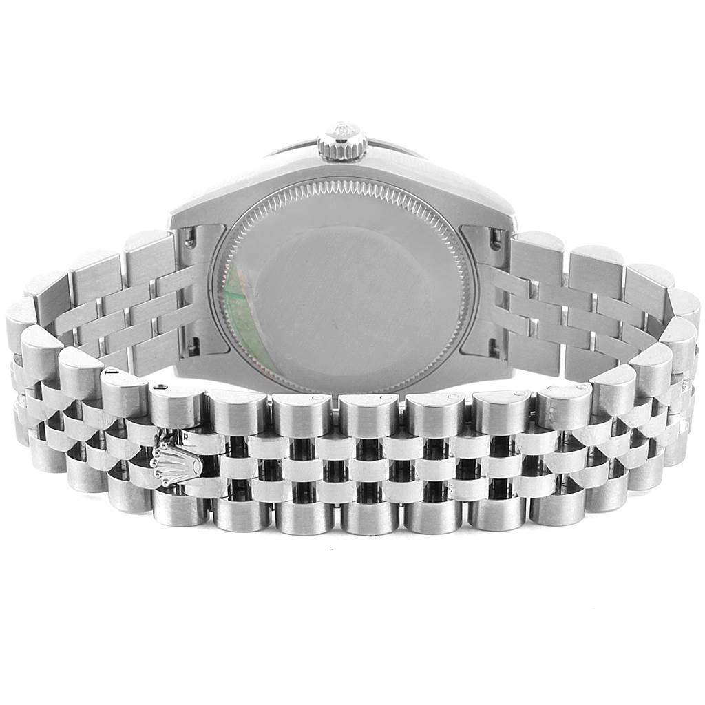 22440 Rolex Datejust Midsize 31 Steel MOP Diamond Ladies Watch 178344 SwissWatchExpo