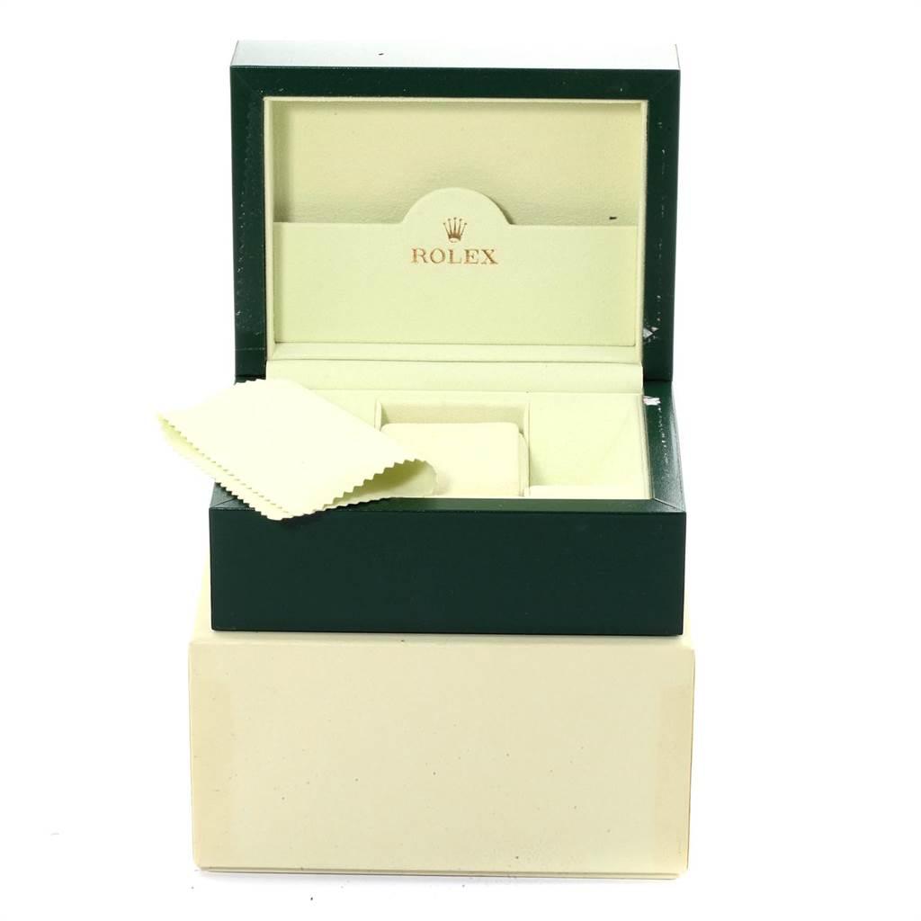 Rolex Datejust Midsize 31 Steel White Gold Blue Dial Watch 178274 SwissWatchExpo