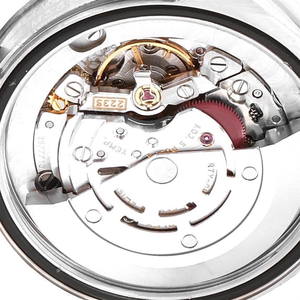 Rolex Midsize Datejust White Roman Dial Steel Ladies Watch 178240 SwissWatchExpo