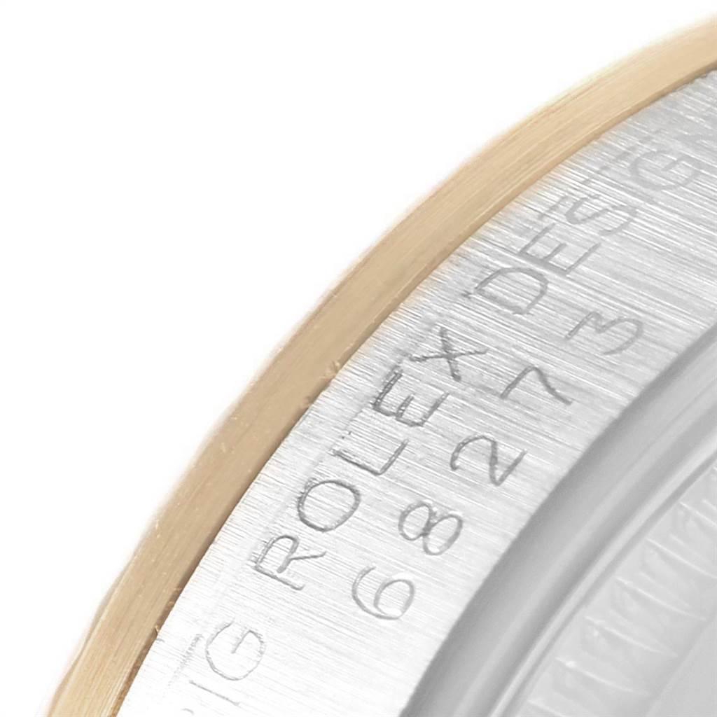 Rolex Datejust Midsize 31 Steel Yellow Gold Vignette Diamond Watch 68273 SwissWatchExpo