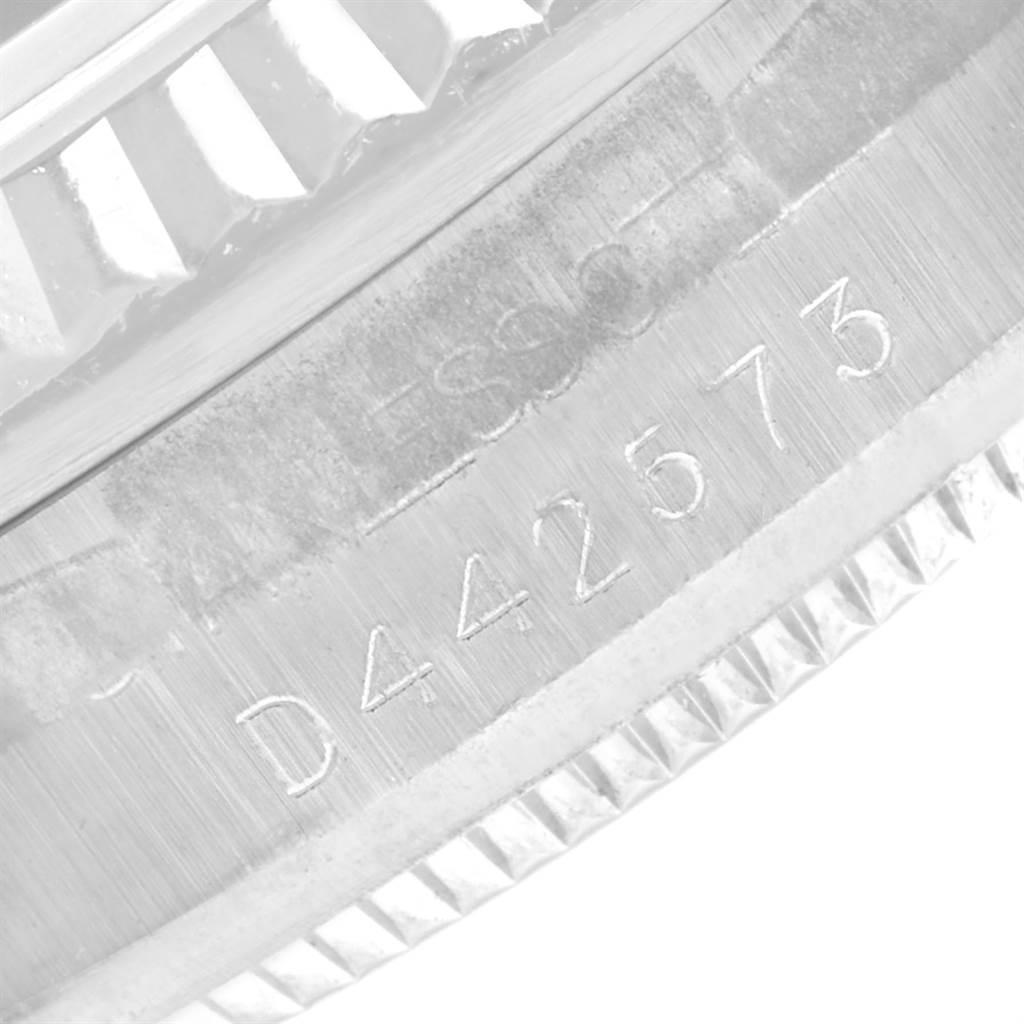 24025 Rolex Datejust Midsize 31 Steel White Gold Diamond Watch 178274 Box  SwissWatchExpo