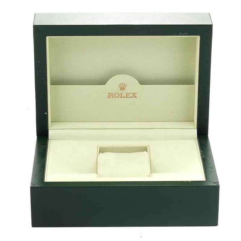 Rolex Datejust 31 Midsize Black Dial Steel Diamond Watch 178344 SwissWatchExpo