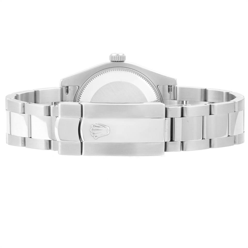 Rolex Datejust Midsize 31 Steel White Gold Diamond Watch 178274 Box Card SwissWatchExpo