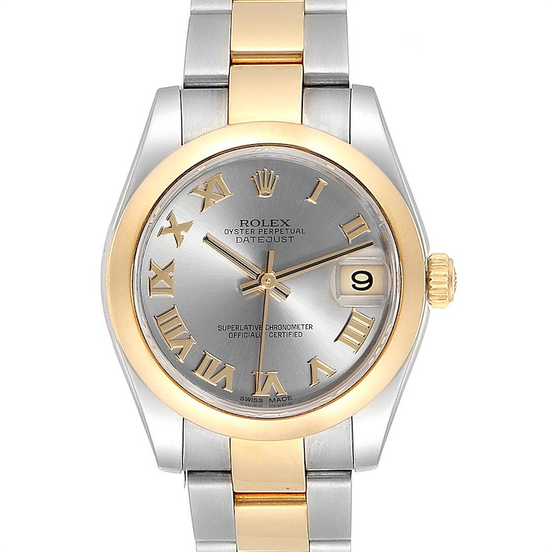 Rolex Datejust 31 Midsize Steel Yellow Gold Ladies Watch 178243 SwissWatchExpo