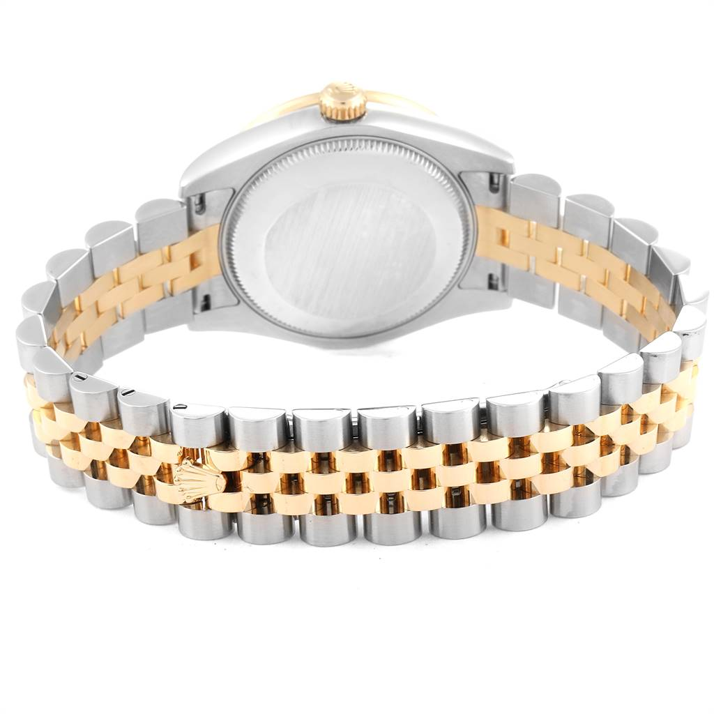 24872 Rolex Datejust 31 Midsize Steel Yellow Gold Diamond Ladies Watch 178383 SwissWatchExpo