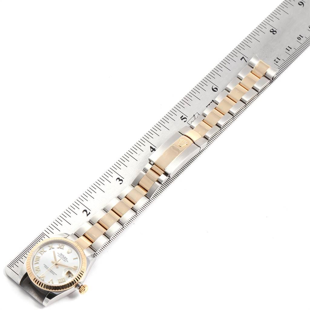 Rolex Datejust Midsize 31 Steel Yellow Gold MOP Ladies Watch 178273 SwissWatchExpo