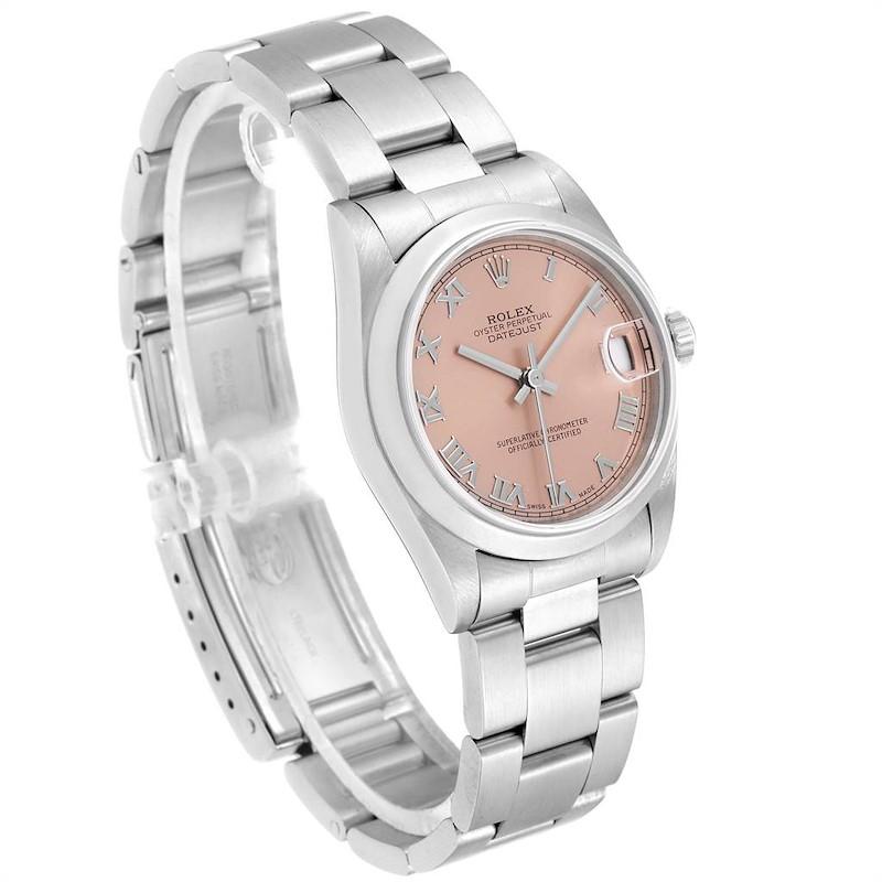 Rolex Datejust 31 Midsize Salmon Dial Ladies Watch 78240 Box Papers SwissWatchExpo