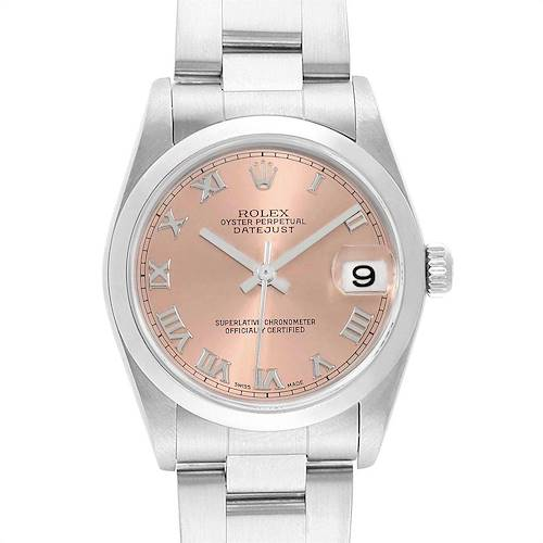 Photo of Rolex Datejust 31 Midsize Salmon Dial Ladies Watch 78240 Box Papers