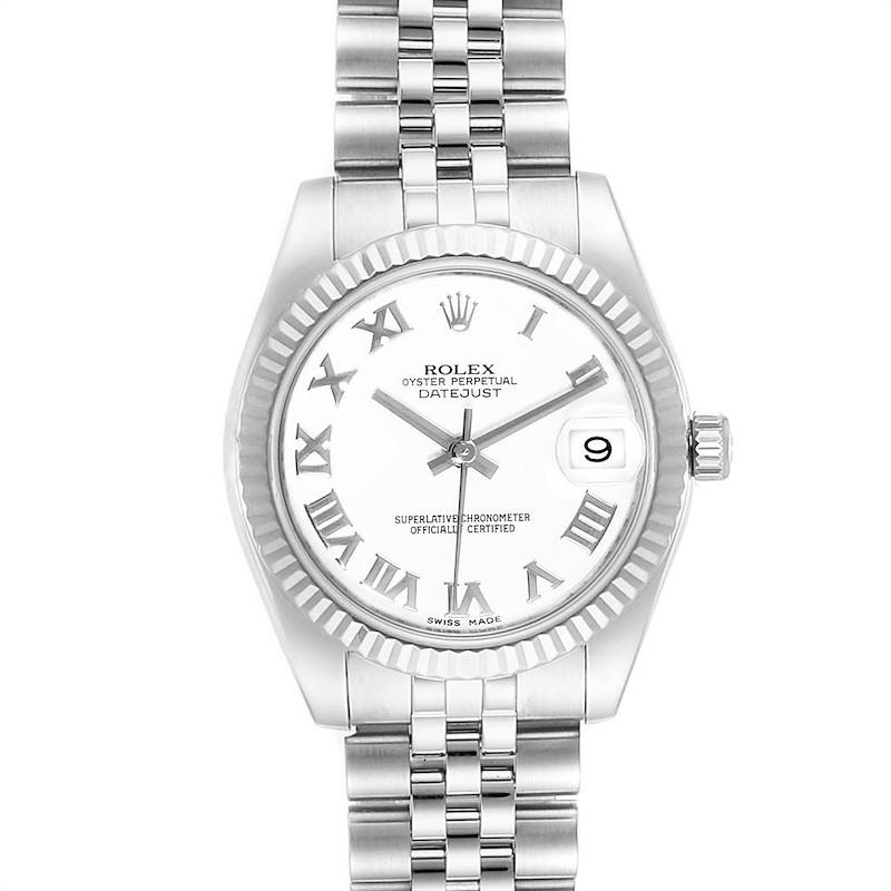 Rolex Datejust Midsize 31 Steel White Gold Ladies Watch 178274 SwissWatchExpo