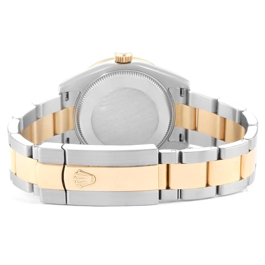 25813 Rolex Datejust 31 Midsize Steel Yellow Gold Diamond Ladies Watch 178383 SwissWatchExpo