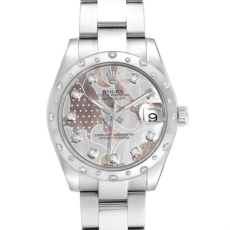 Rolex Datejust Midsize Goldust Dream MOP Diamond Ladies Watch 178344 SwissWatchExpo