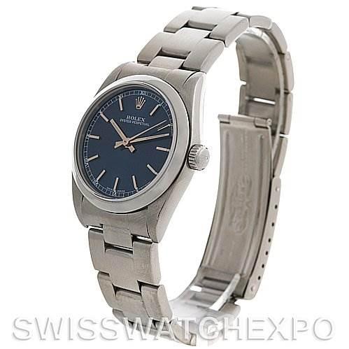 Rolex  Midsize Oyster Perpetual Watch Steel 77080 SwissWatchExpo