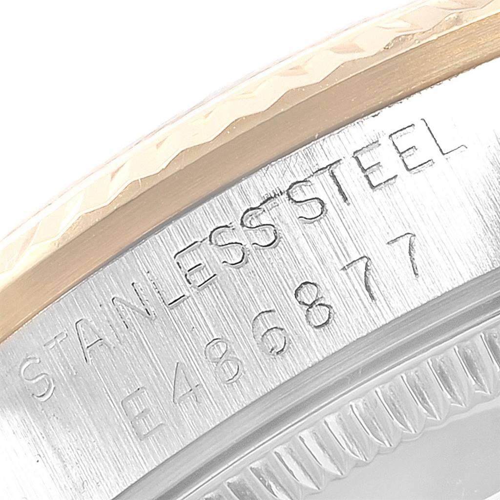 Rolex Datejust Midsize 31 Steel Yellow Gold Diamond Watch 68273 Box Papers SwissWatchExpo