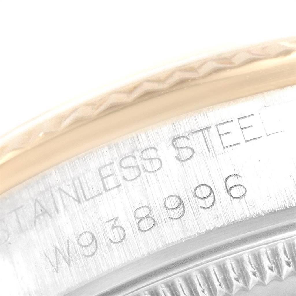 Rolex Datejust Midsize 31mm Steel Yellow Gold Dial Ladies Watch 68273 SwissWatchExpo