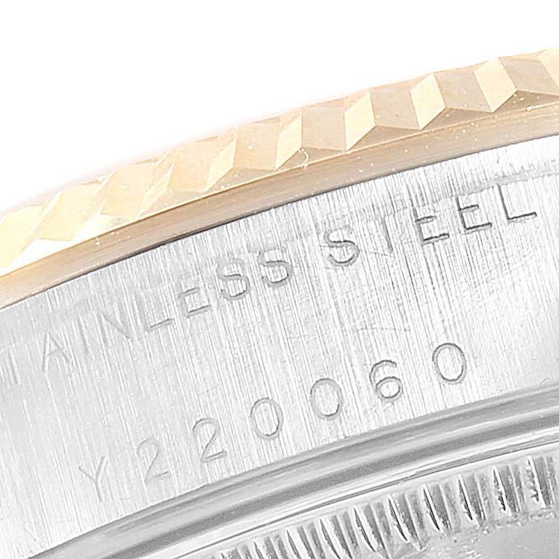Rolex Datejust Midsize 31 Steel Yellow Gold Diamond Ladies Watch 68273 SwissWatchExpo